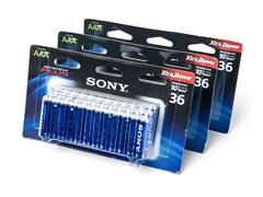 AAA STAMINA PLUS Alkaline Batteries - 108 Pack