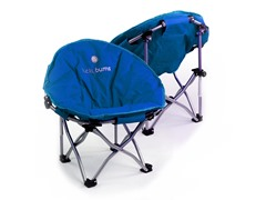 Lucky Bums Kids Moon Camping Chair, Blue
