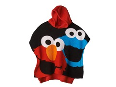 Elmo Hooded Poncho - Toddler