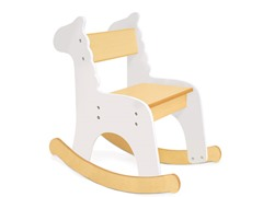 Zebra Rocking Chair
