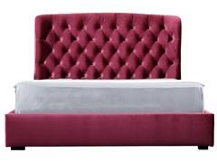 Burgundy Presidio Bed (2 Sizes)