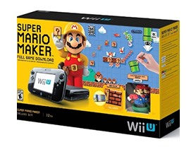 Nintendo Wii U Super Mario Maker Console Deluxe Set