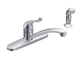 Moen Adler Collection Kitchen Faucet w/ Side Spray