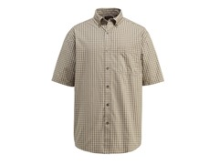 Barton Cotton Button-Down Shirt, Khaki