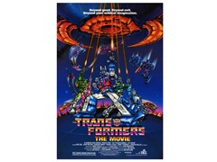 Transformers: The Movie Poster
