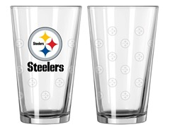 Steelers Pint Glass 2-Pack