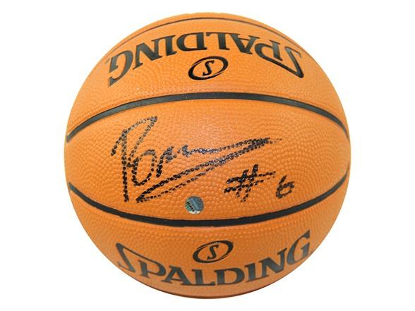 Kristaps Porzingis Mini 5in Synthetic Basketball WT137022A