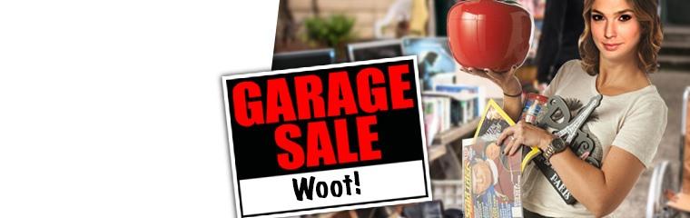 Garage Sales.Woot