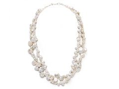 SS 2-Strands Freshwater Pearl Necklace