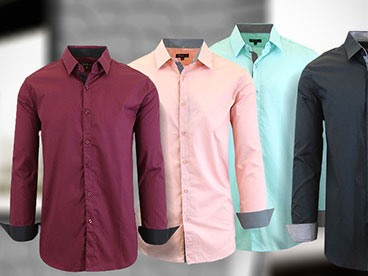 Fresh New Dress Shirts for Spring by Harvic