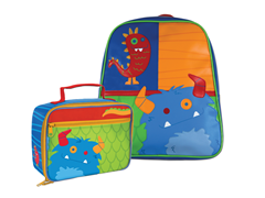 Boy Monster Go-Go Bag & Lunchbox