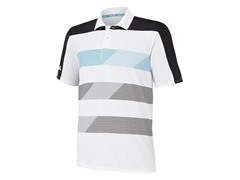 ClimaChill Block Stripe - White