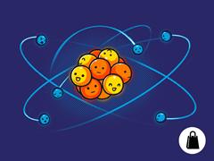 Orbital Model of the Carbon Atom Tote
