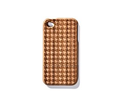 Bamboo Houndstooth Cover for iPhone 4/4S