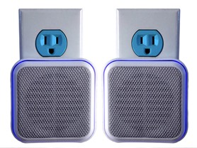 BlueDotSound Wall Outlet BT Speaker 2pk