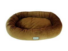 Large Dog Bed - Brown
