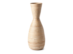 Modern Bamboo Vase - Natural