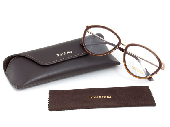 Designer Eyeglass Frames Tom Ford : Tom Ford FT5247 Designer Eyewear - Fashion