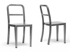 Echo Gunmetal Dining Chair Set/2