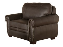 Pregido Premium Leather Chair & Half
