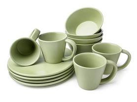12pc Dinnerware Set (4 Colors)