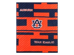Auburn University Quilted Throw B