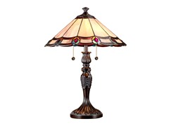 Dale Tiffany16X22 Aldridge Peacock Table Lamp