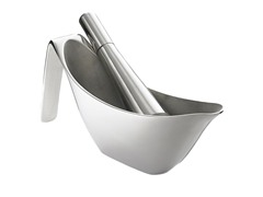 Curtis Stone Stainless Mortar & Pestle