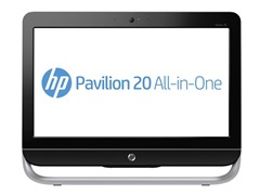 "HP 20"" Touchsmart Quad-Core AIO PC"