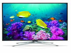 "Samsung 50"" 1080p LED Smart TV w/ Wi-Fi"