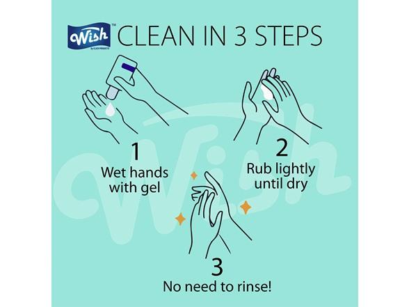 Wish Ultra Hand Sanitizer 1-Liter 10-Pack