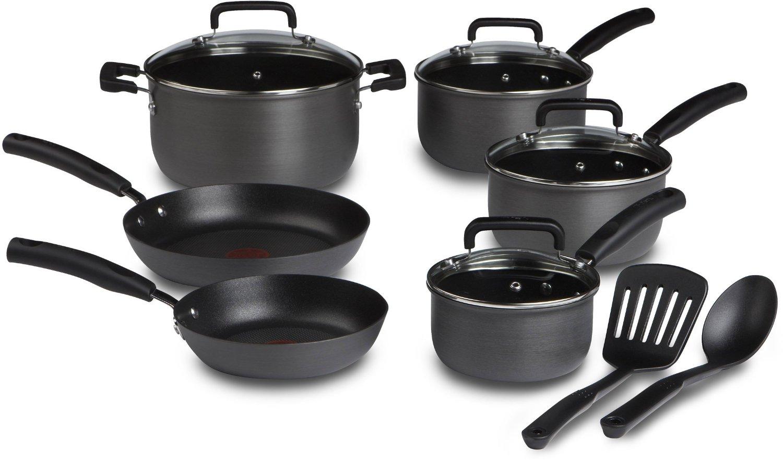 T-fal D913SC Signature 12-Piece Cookware Sets