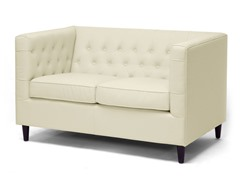 Darrow Leather Loveseat