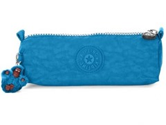 Freedom Cosmetics Bag/Pen Case, Aqua Blue