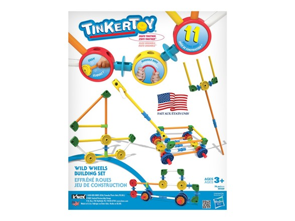 Best Tinker Toys For Kids : Tinkertoy wild wheels building set kids toys