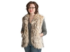Nyala Faux Fur Vest
