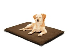 Orthopedic Foam Bed Suede Espresso- 2 Sizes