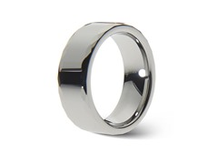 Tungsten Center Faceted Edge Ring