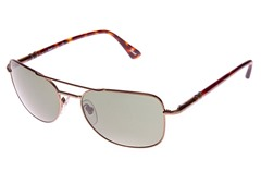Men's Pilot Sunglasses, 56mm