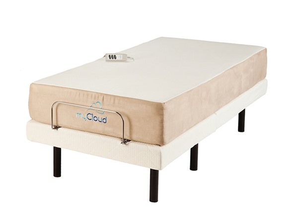 Adjustable Bed Frame Head Only : Adjustable bed with quot twin xl mattress