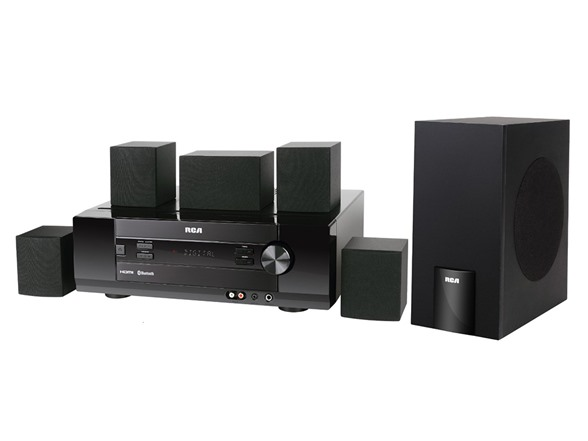 rca 1000w home theater system w bluetooth. Black Bedroom Furniture Sets. Home Design Ideas