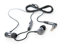 Overkill In-Ear Earphones w/Inline Mic - Black