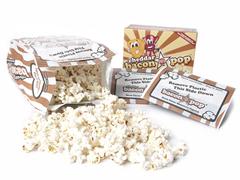BaconPOP Cheddar Microwave Popcorn