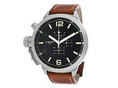 Men's 304 Black/Brown Leather Watch