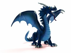 Schleich Blue Dragon
