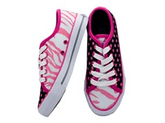 Zany Zebra Lace-up (Women's)