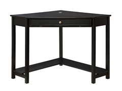 Homelegance Corner Desk - Black