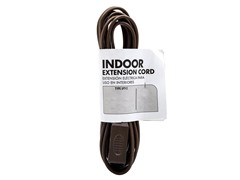 12Ft. 16/2 Brown Cube Tap Extension Cord