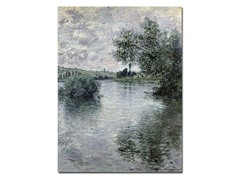 Claude Monet Seine at Vetheuil (2 Sizes)