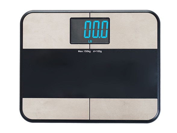 Bmi digital bathroom scale w iphone app for Kitchen scale with app